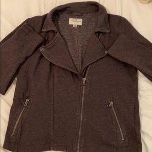 Dark gray stylish jacket to dress up any outfit!